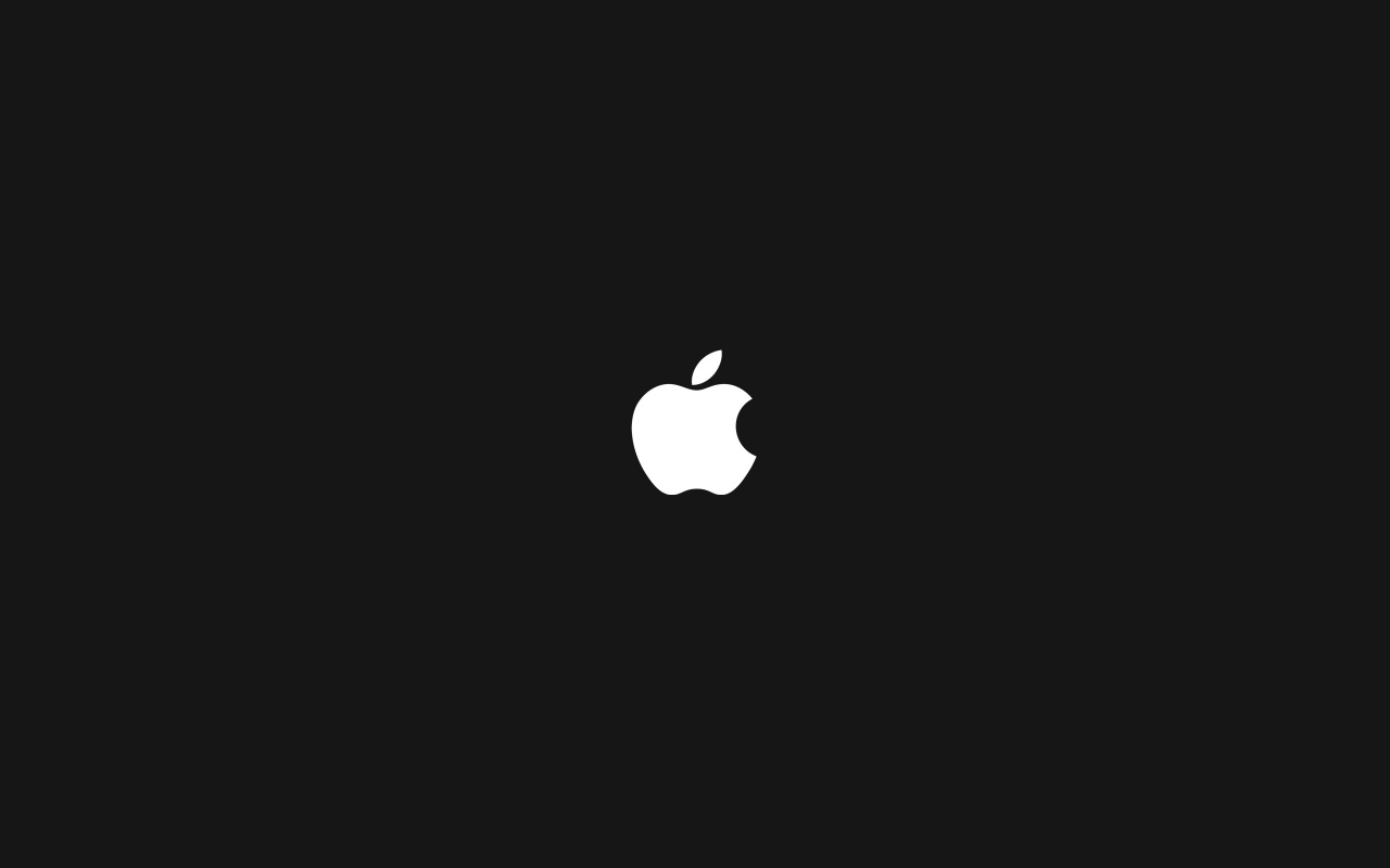 1280x800 apple logo black desktop pc and mac wallpaper