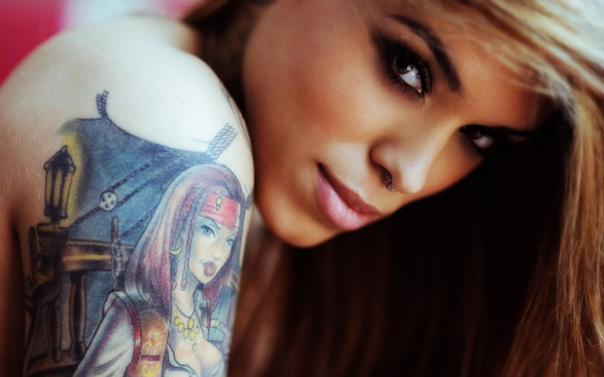 Image Result For Anime Girl Tattoo Hd Wallpaper