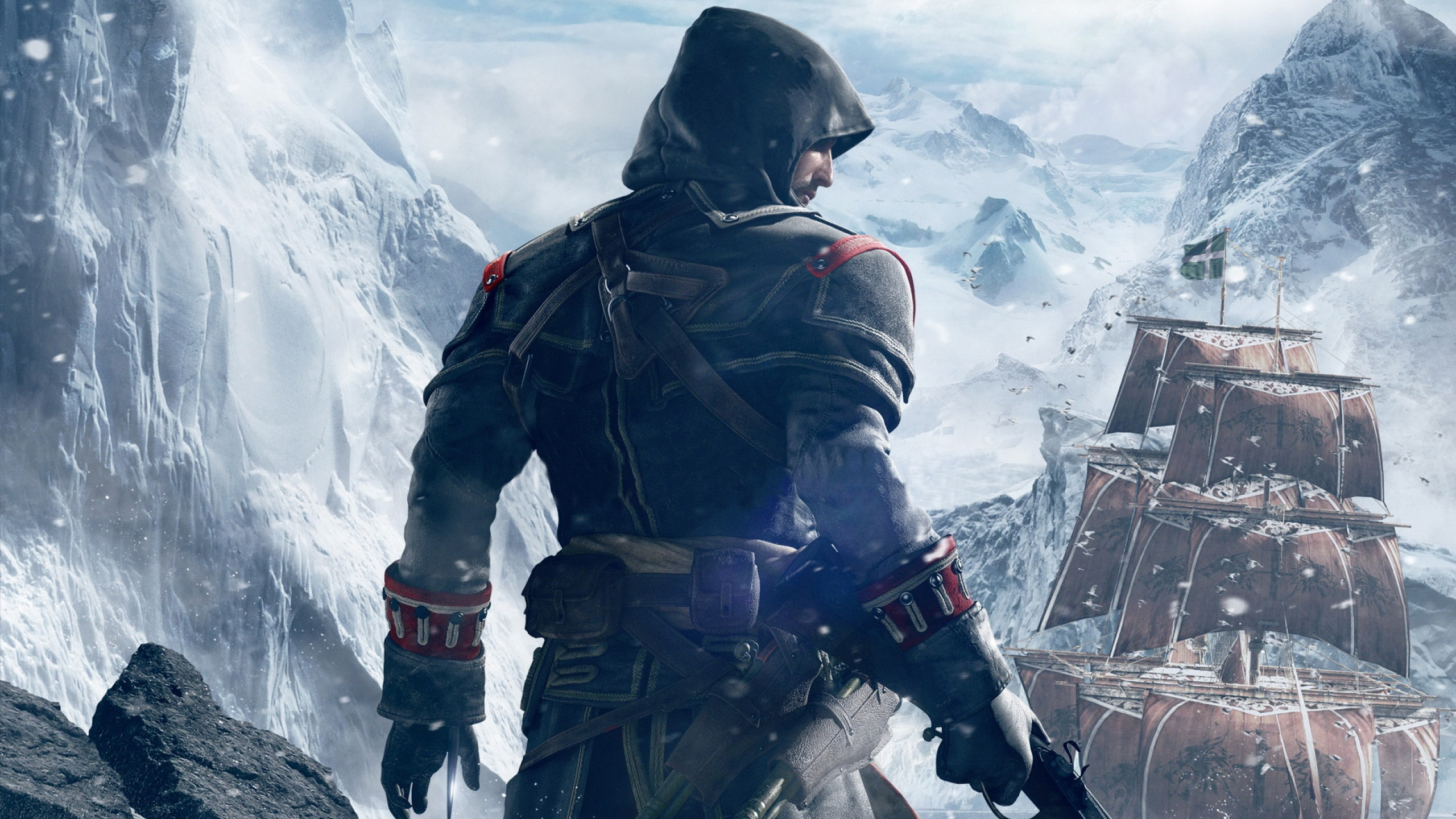 2560x1440 assassin's creed rogue youtube channel cover