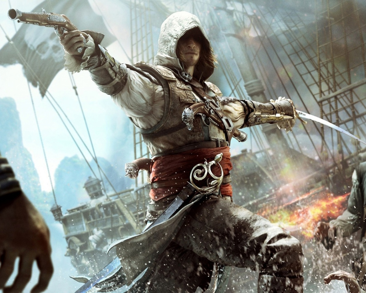 1280x1024 Assassins Creed 4 Black Flag Desktop Pc And Mac