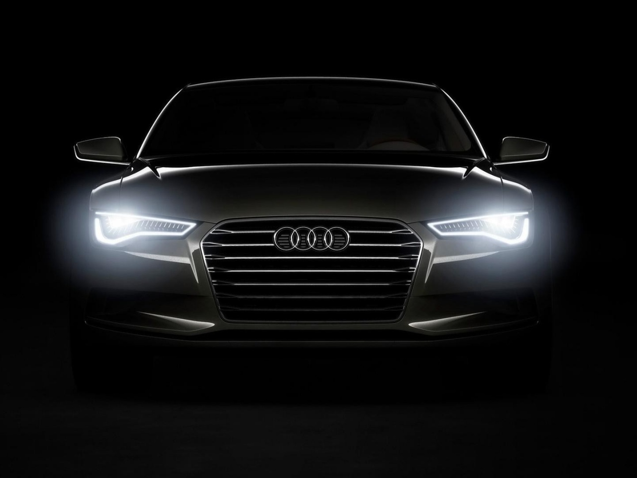 1280x960 Audi Headlights Desktop Pc And Mac Wallpaper