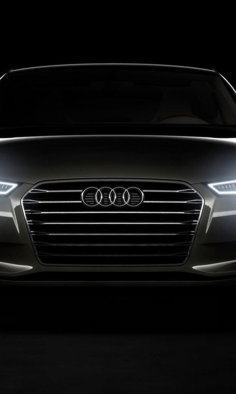 480x800 Audi Headlights Galaxy S2 Wallpaper