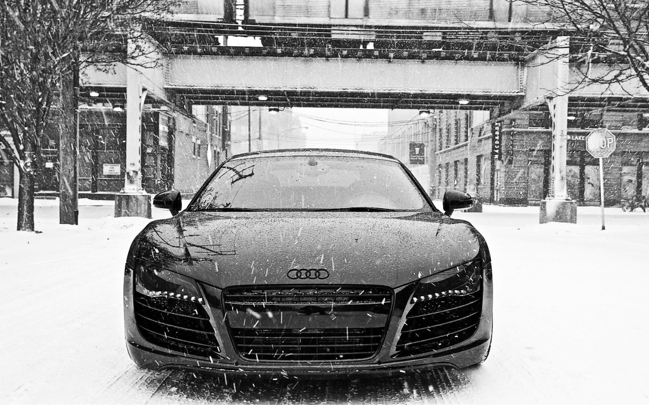 1280x800 Audi R8 HD Widescreen desktop PC and Mac wallpaper