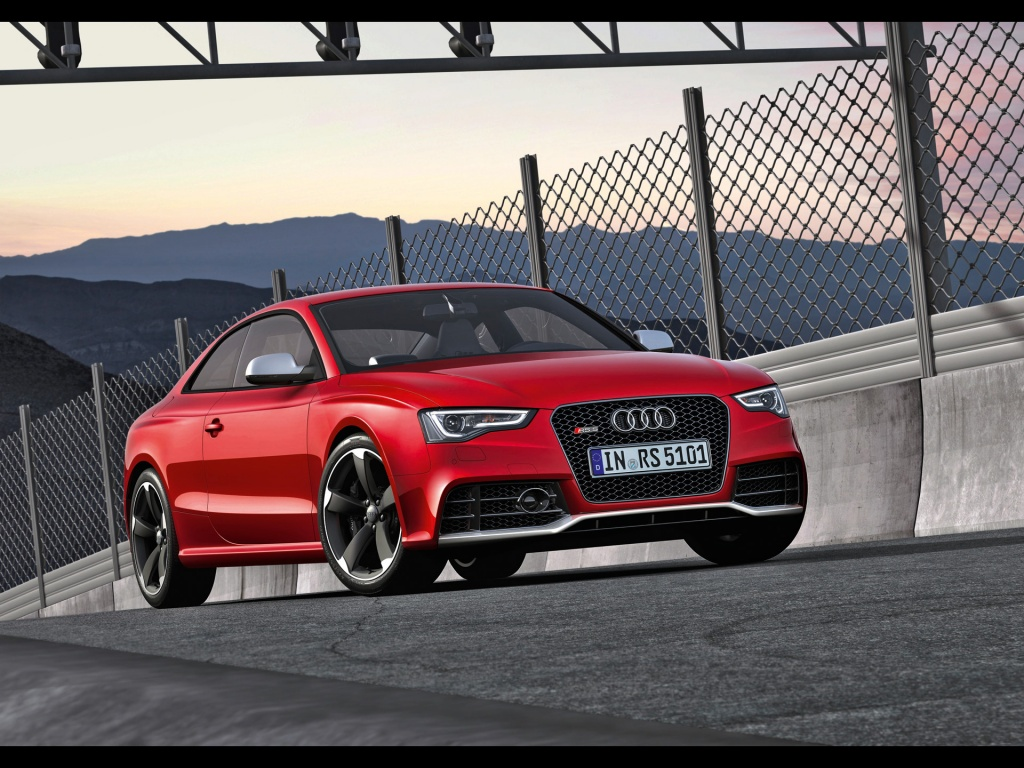 1024x768 Audi Rs5 Front Angle 3 Desktop Pc And Mac Wallpaper