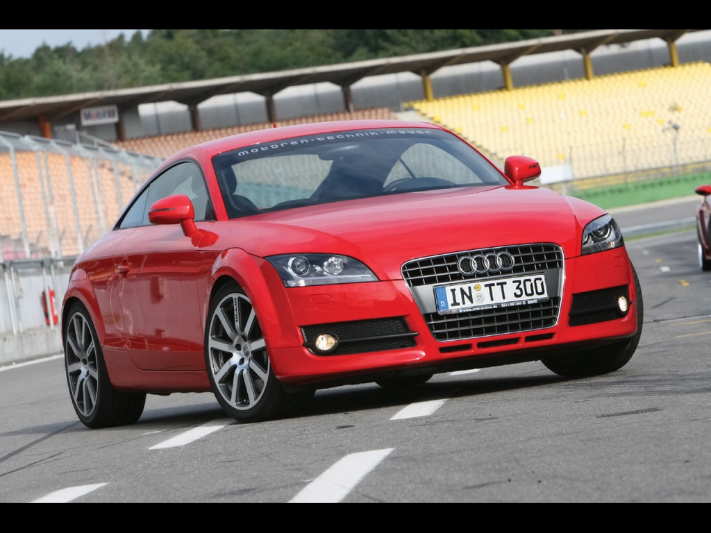 1024x768 Audi Tt Red Desktop Pc And Mac Wallpaper