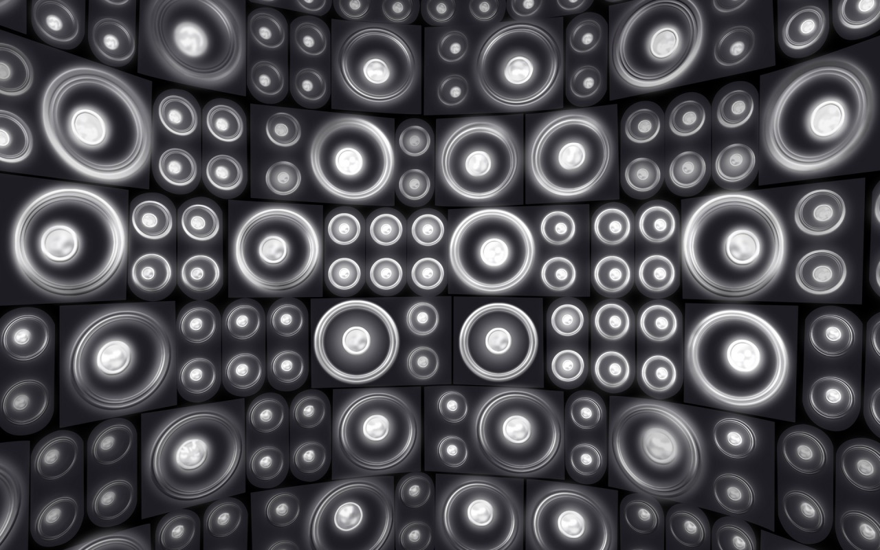 1280x800 Audio Wall