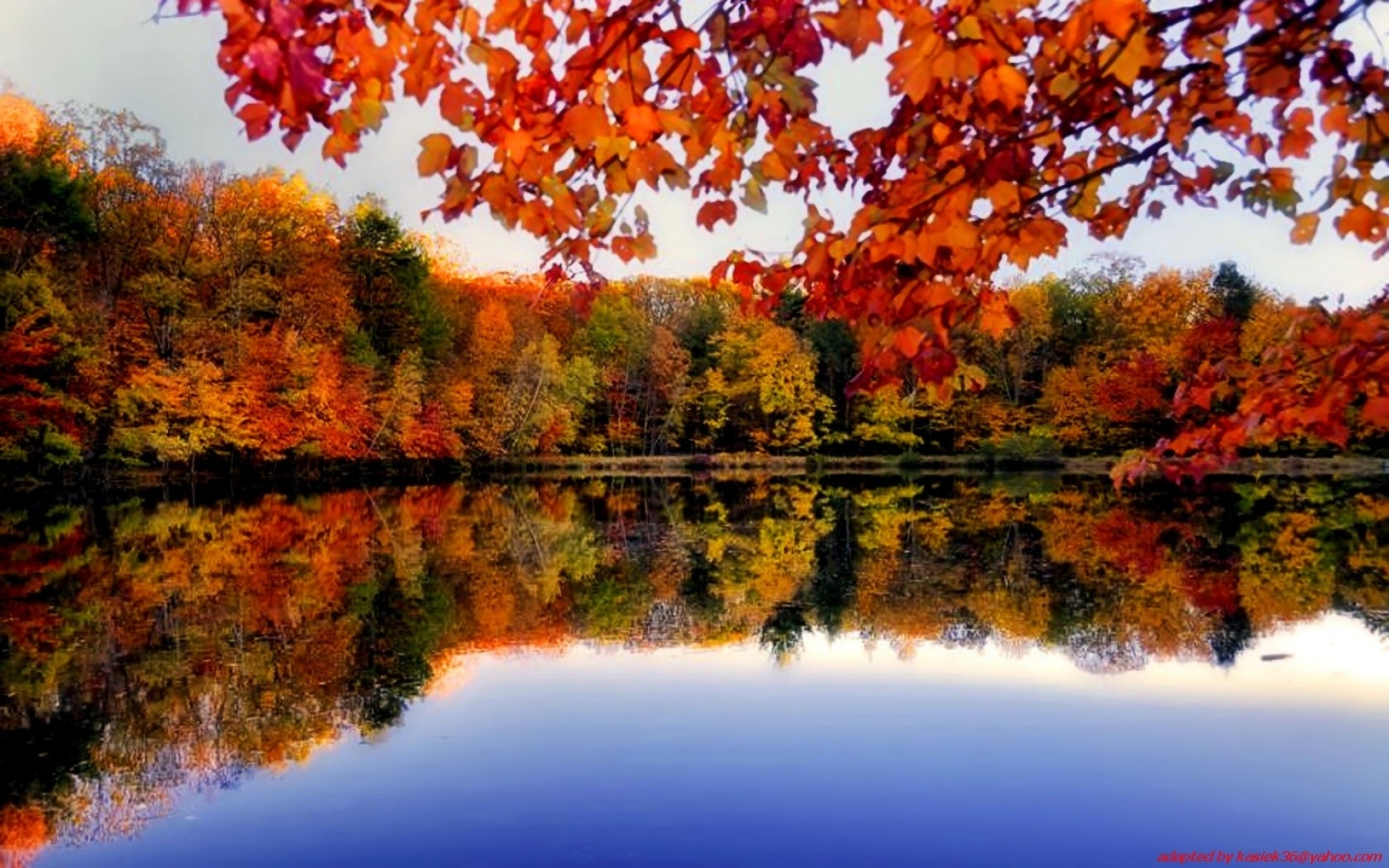 Autumn Forest River Side Wallpapers Autumn Forest River