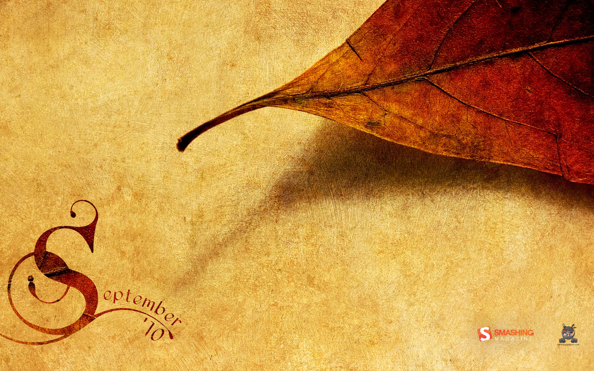 Autumn paper wallpapers