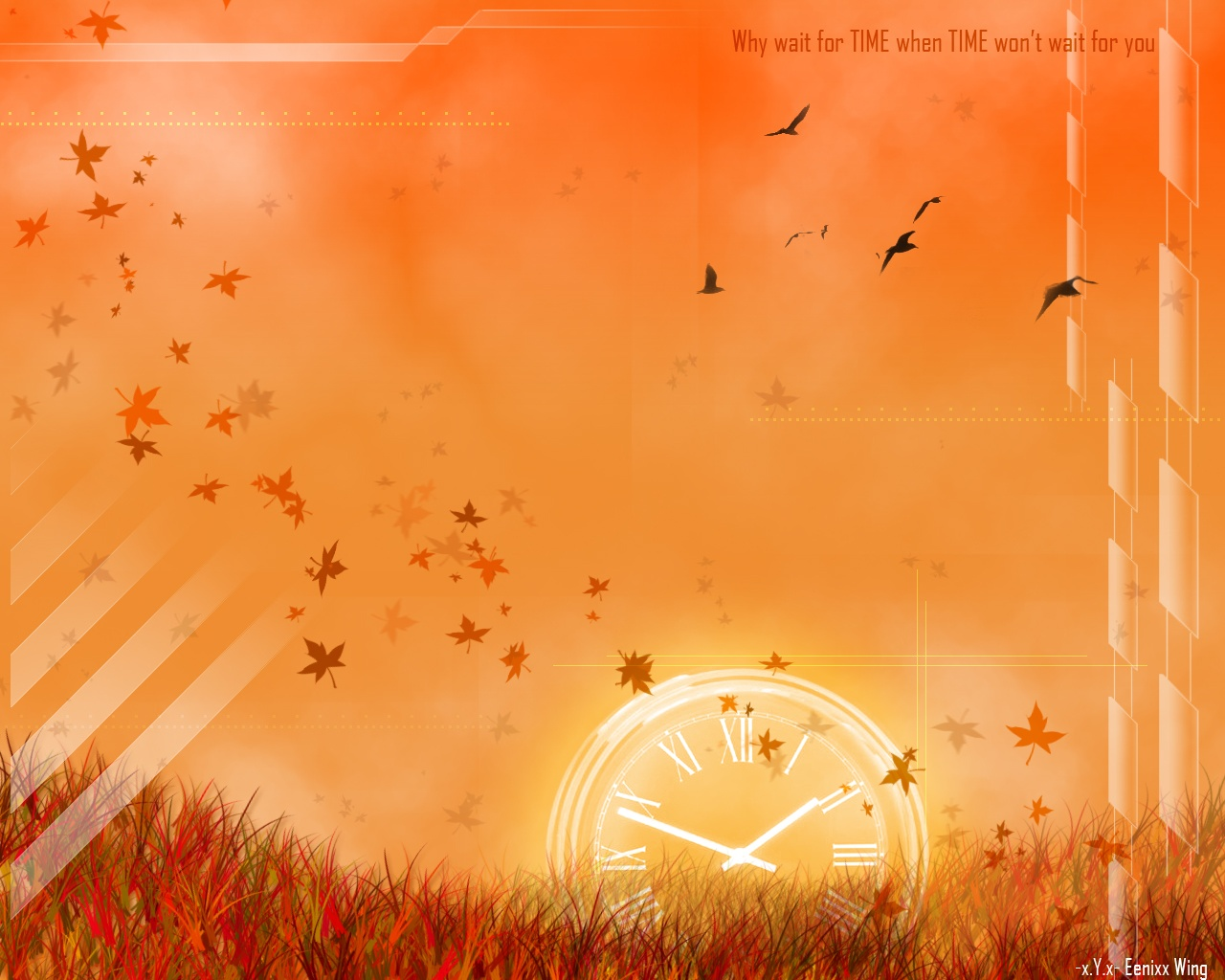 1280x1024 Autumn time desktop PC and Mac wallpaper