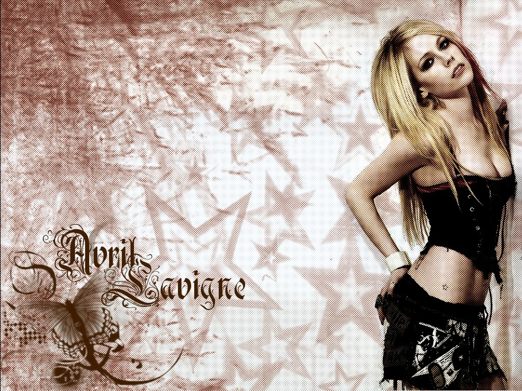 1024x768 avril lavigne wallpaper desktop pc and mac wallpaper
