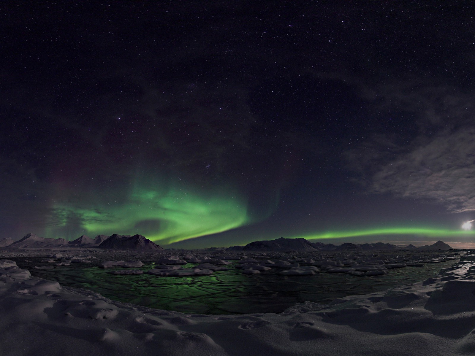 1500x500 Awesome Northern Lights Twitter Header Photo