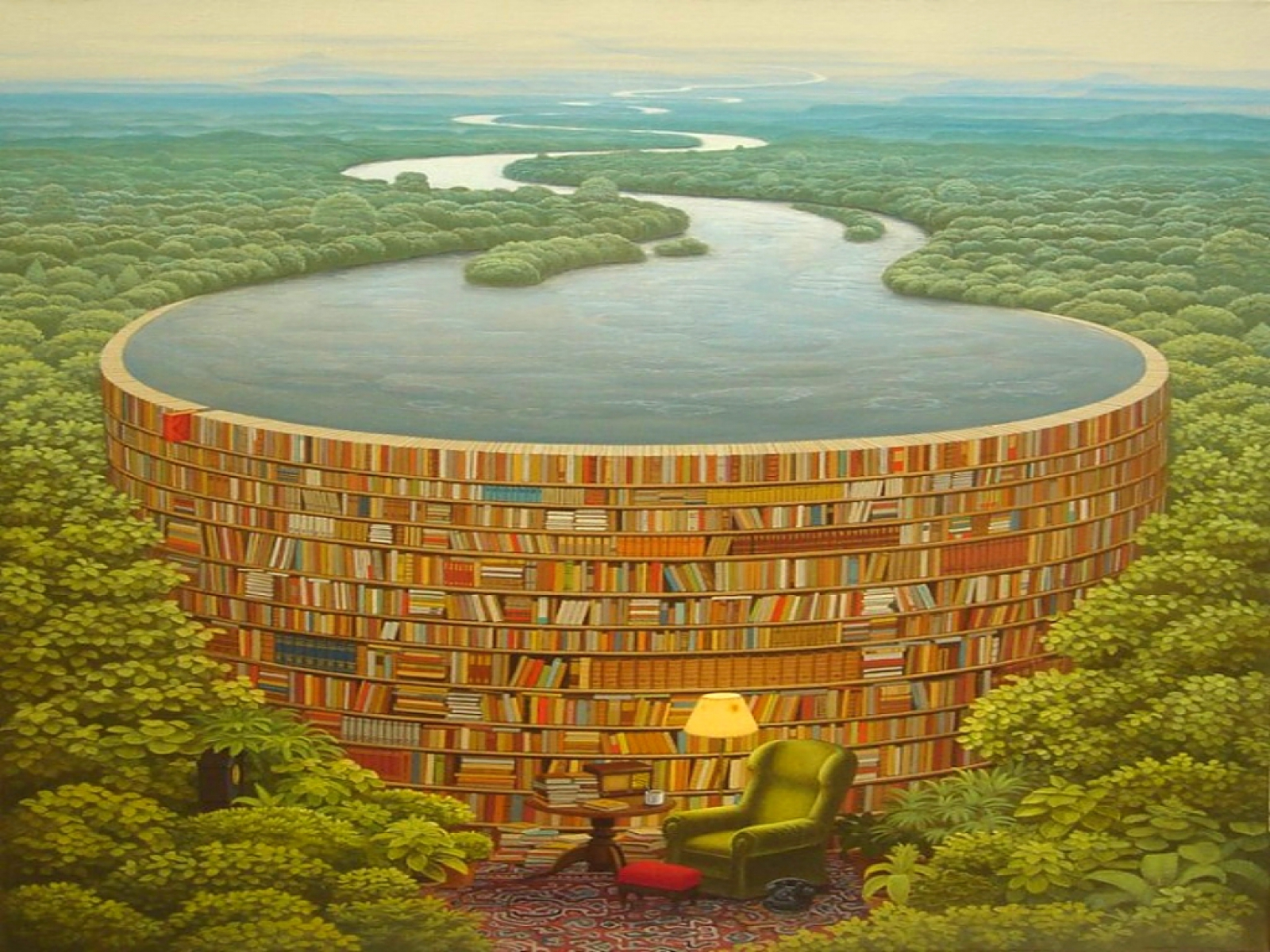 Awesome Surreal Scenery Books Wallpapers Awesome Surreal Scenery