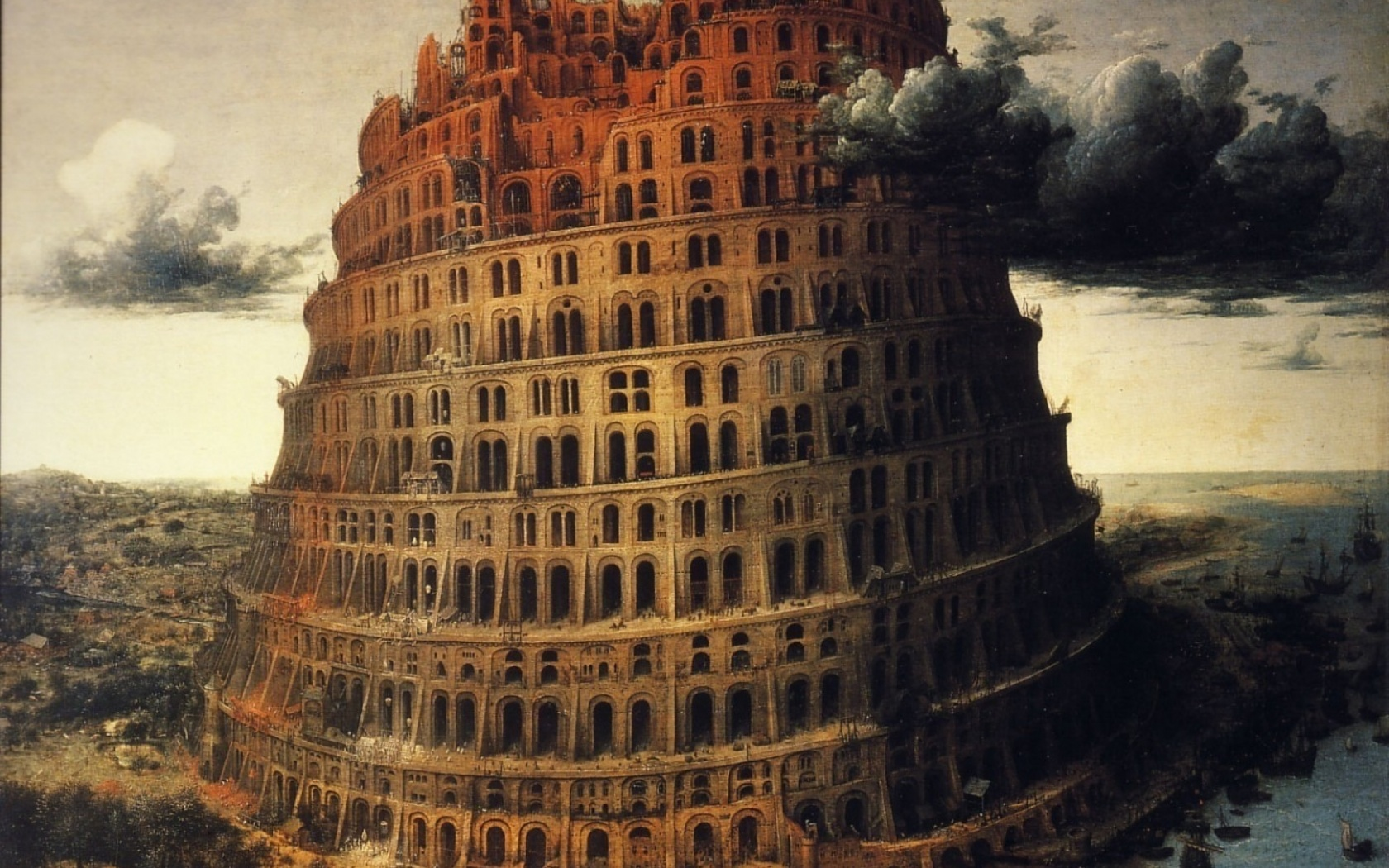 why did the tower of babel