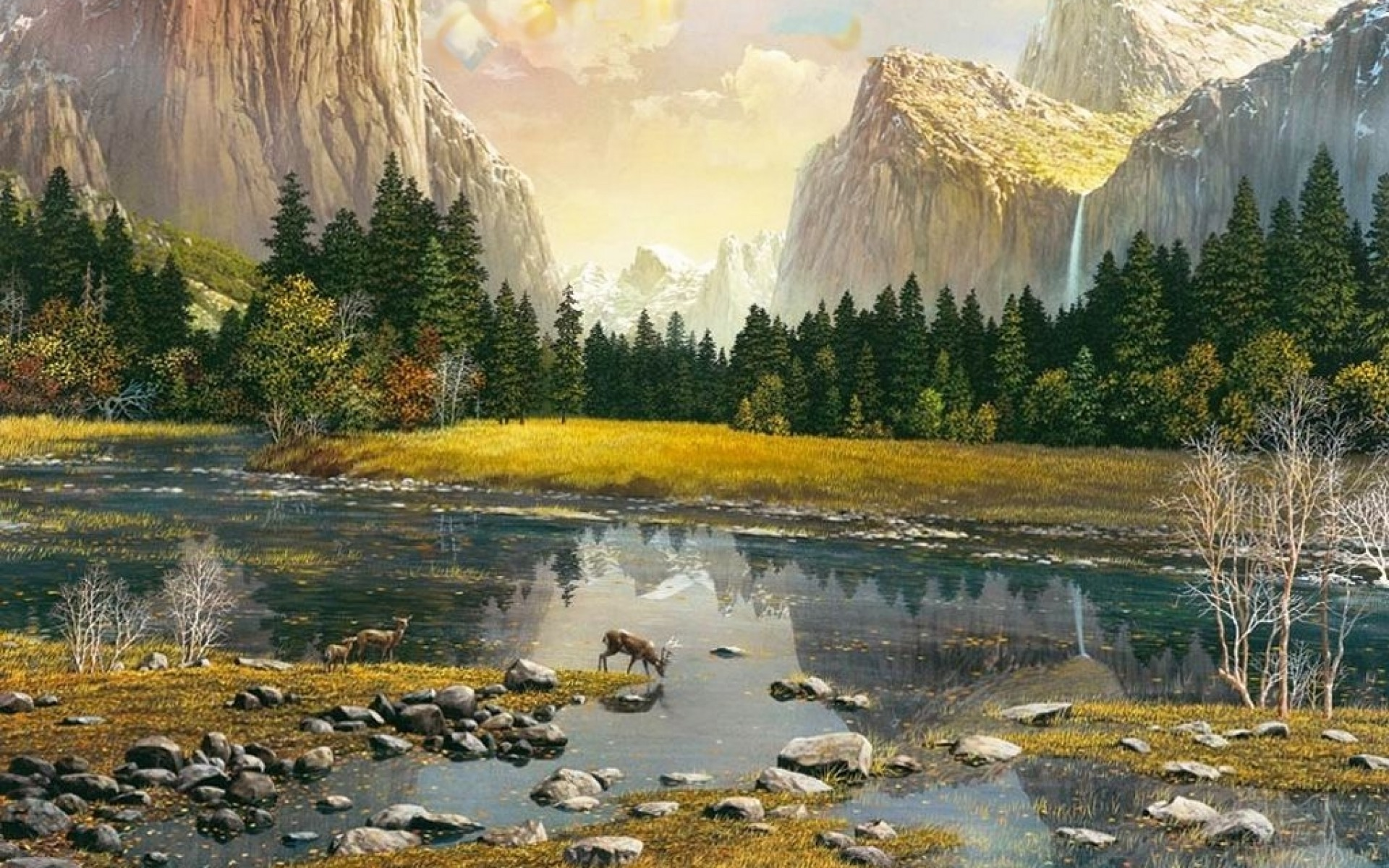 Image: Awesome Yosemite Valley Deer wallpapers and stock photos. «