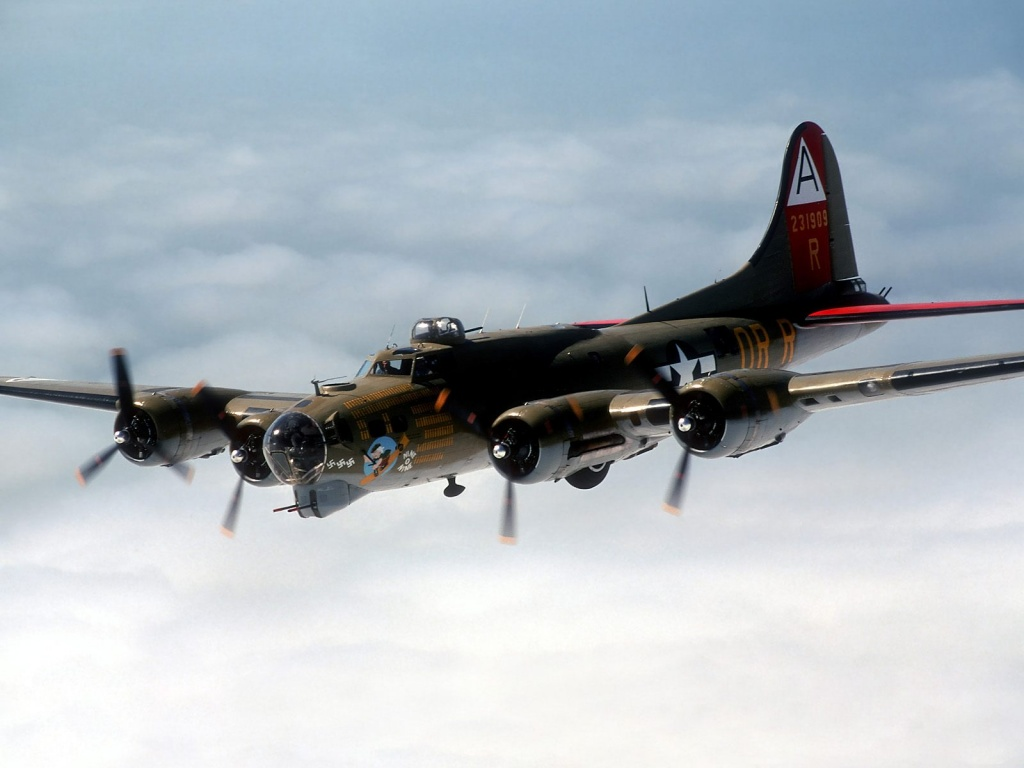 B 17 Flying Fortress Wallpaper 1024x768 B 17 Flying F...