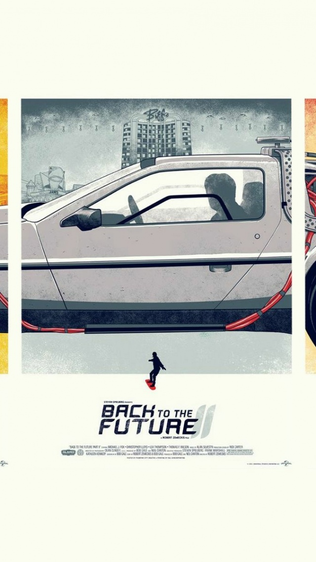 640x1136 back to the future series iphone 5 wallpaper