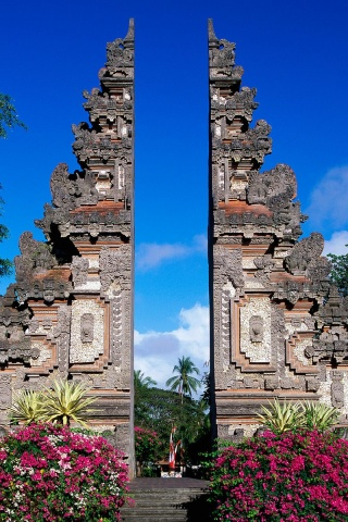 320x480 Bali Monument Iphone 3g Wallpaper
