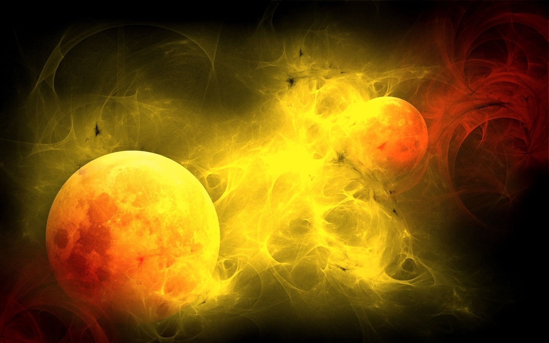 awesome abstract yellow orange - photo #30