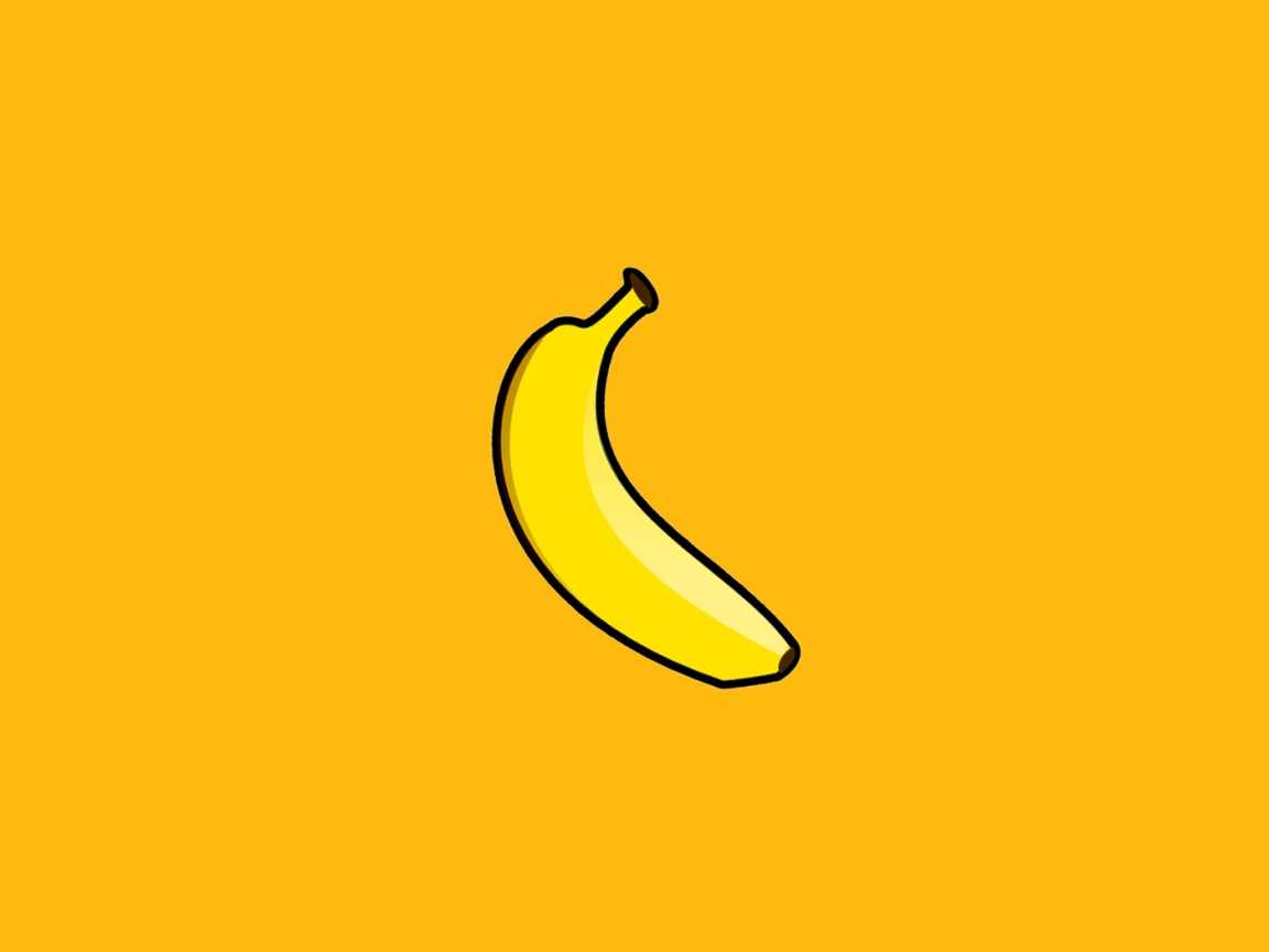 1152x864 Banana desktop PC and Mac wallpaper