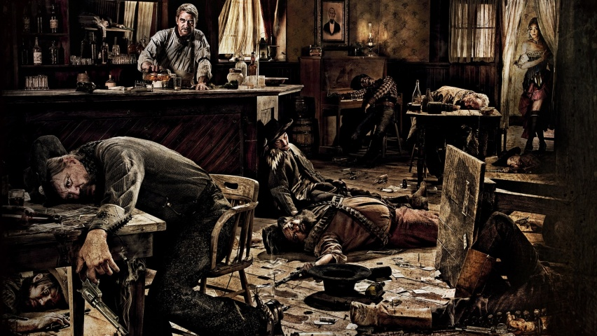 852x480 Bar Scene Desktop Pc And Mac Wallpaper