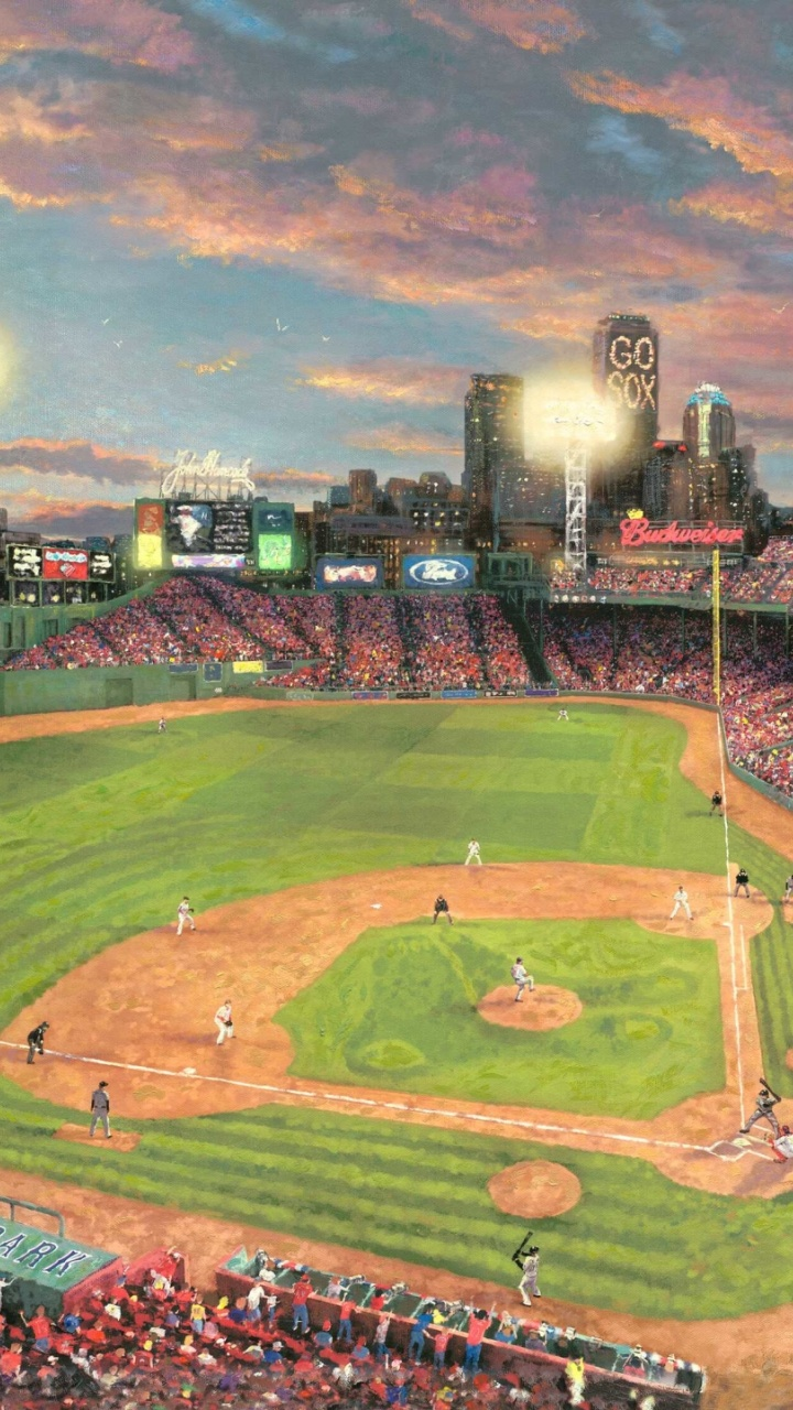 720x1280 Baseball Stadium Fenway Park Htc One X Wallpaper