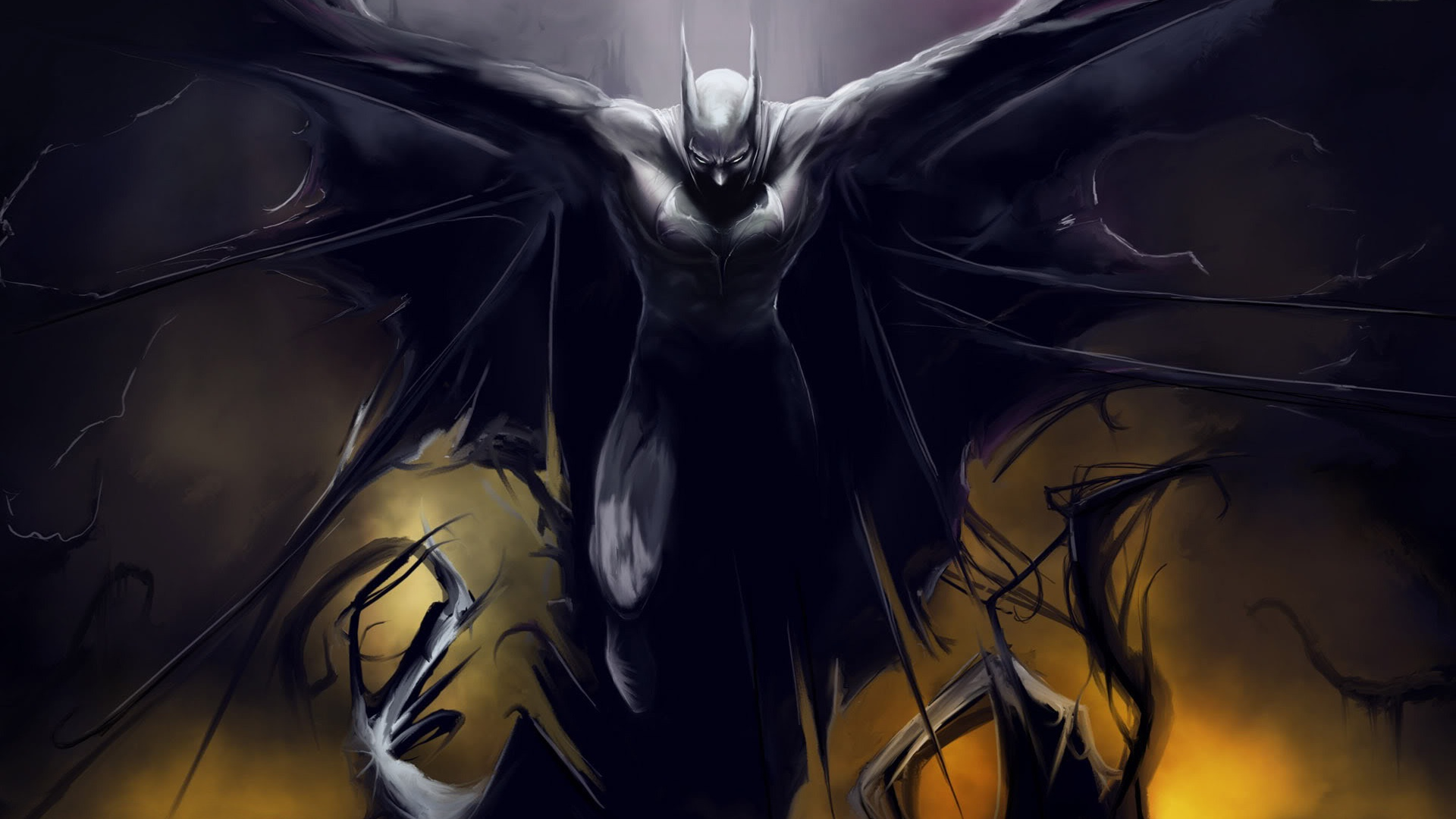 1920x1080 Batman, comic, cartoons