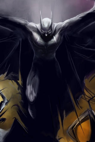 320x480 Batman, comic, cartoons