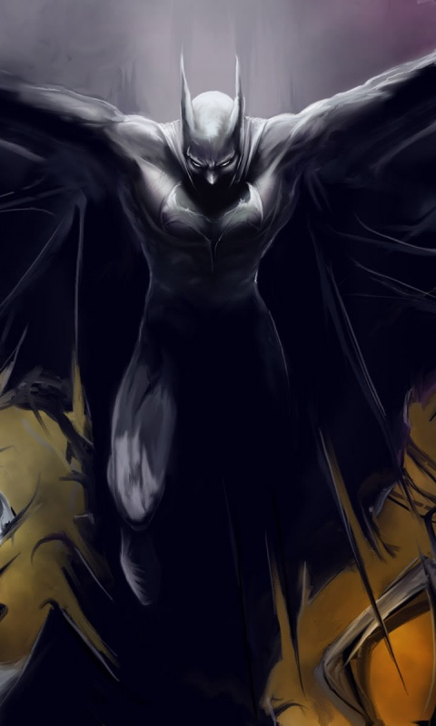 480x800 Batman, comic, cartoons