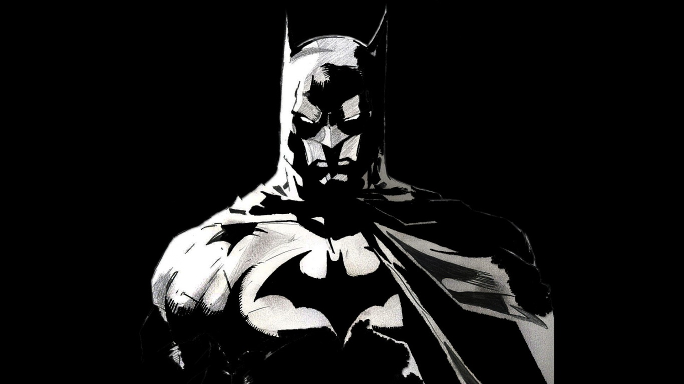 batman desktop wallpaper 1366x768