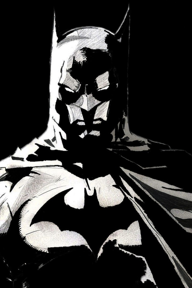 640x960 Batman Artwork Desktop Pc And Mac Wallpaper