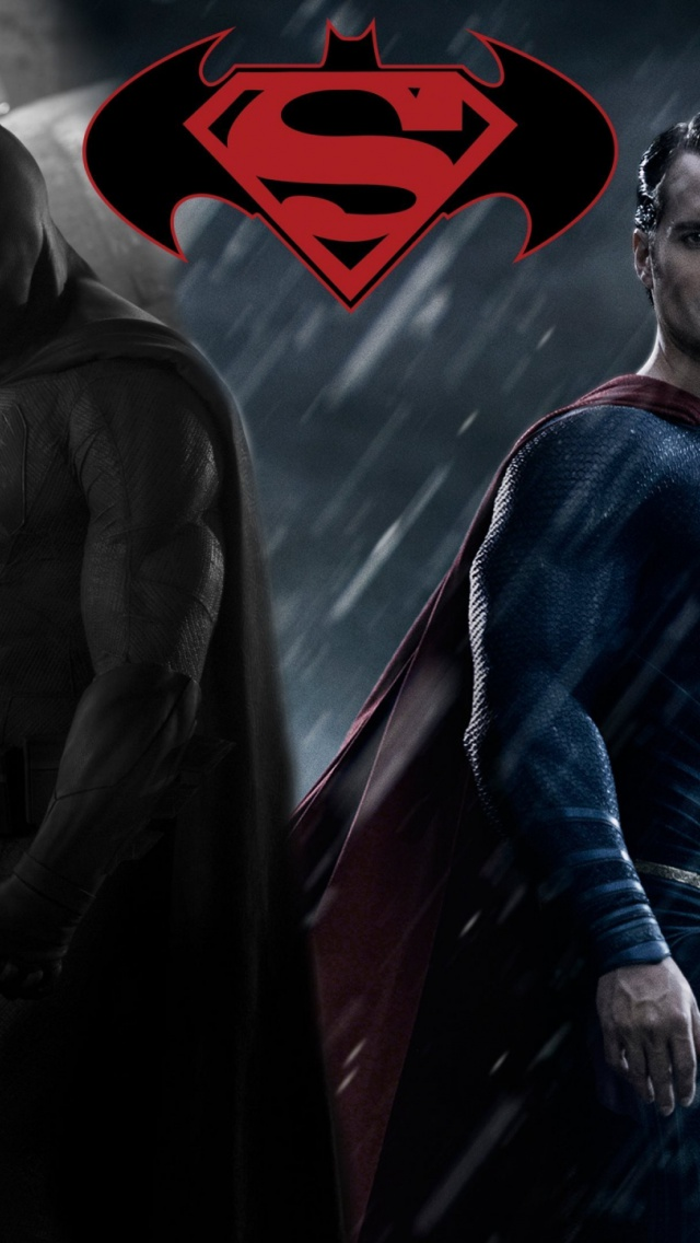 640x1136 Batman Vs Superman Fan Artwork Iphone 5 Wallpaper