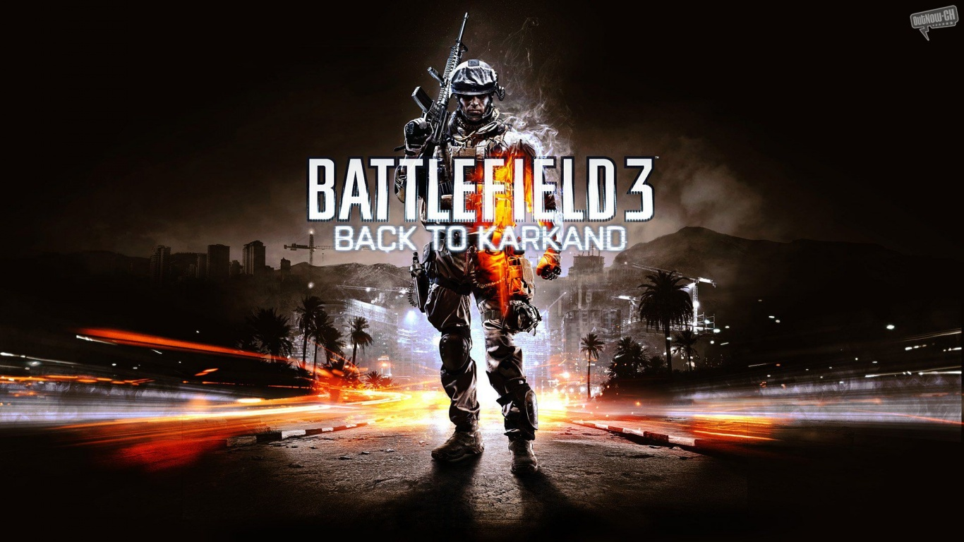 1366x768 Battlefield 3 desktop PC and Mac wallpaper