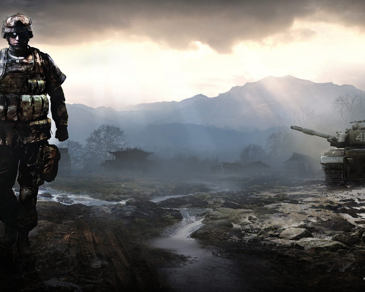 1280x1024 Battlefield 4 Game Desktop PC And Mac Wallpaper