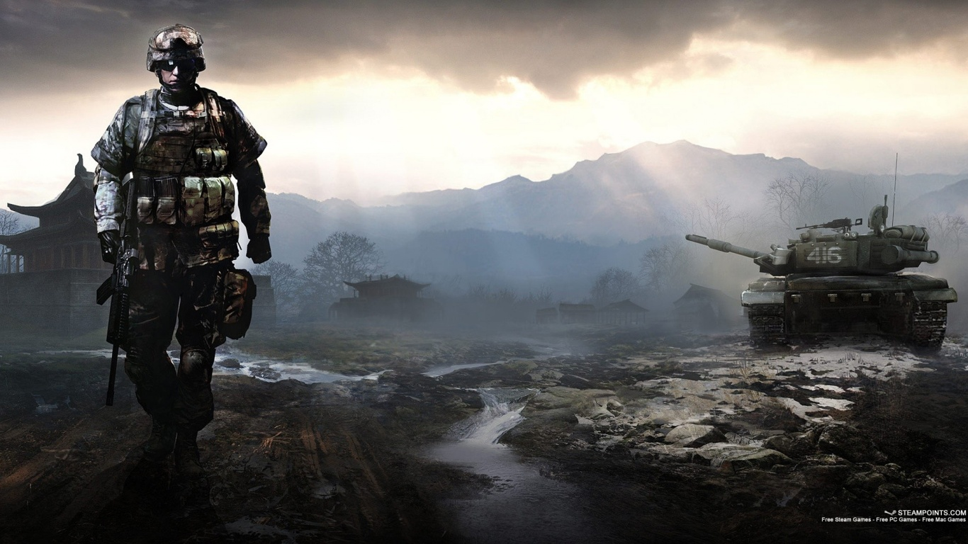 1366x768 battlefield 4 game desktop pc and mac wallpaper