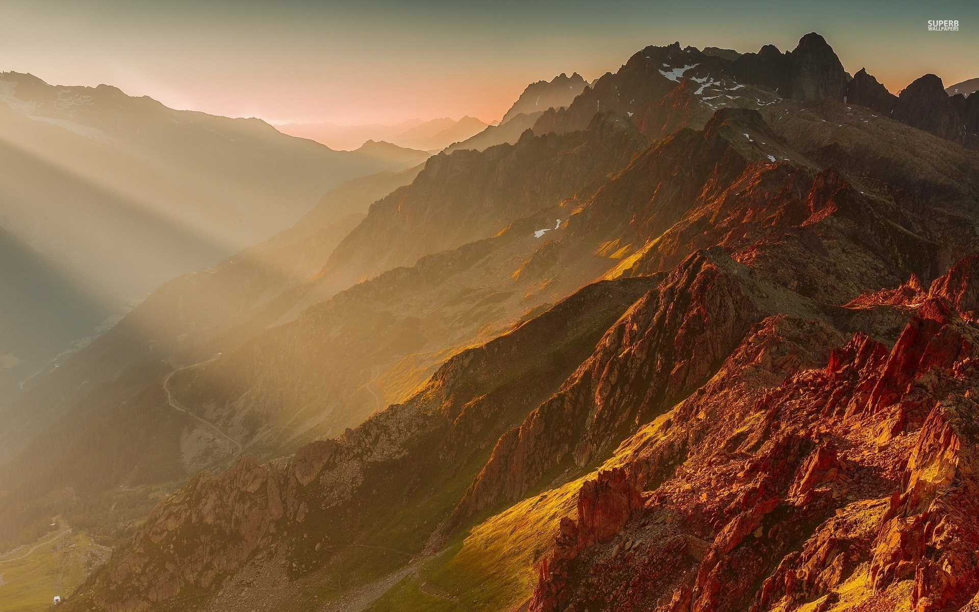 beautiful copper alps french wallpapers