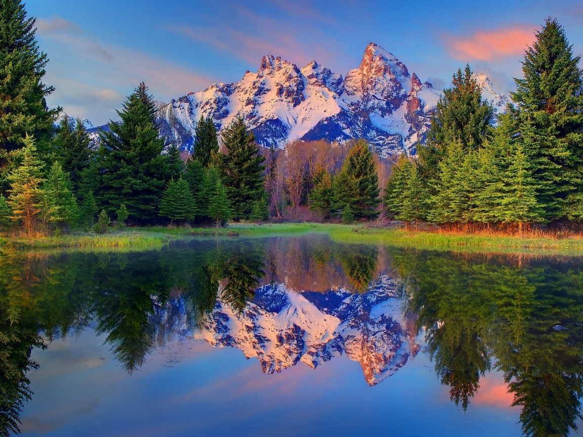 1152x864 beautiful grand teton wyoming desktop pc and mac