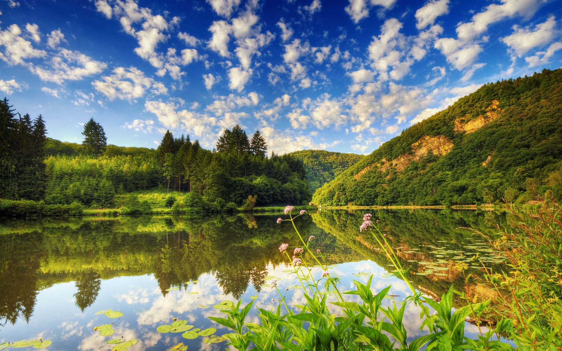 1920x1200 beautiful lake desktop pc and mac wallpaper