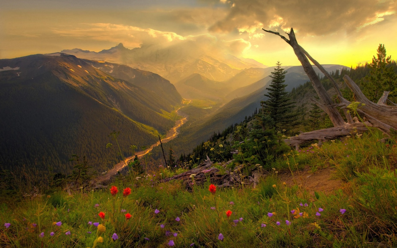 1280x800 beautiful mountain scenery desktop pc and mac wallpaper
