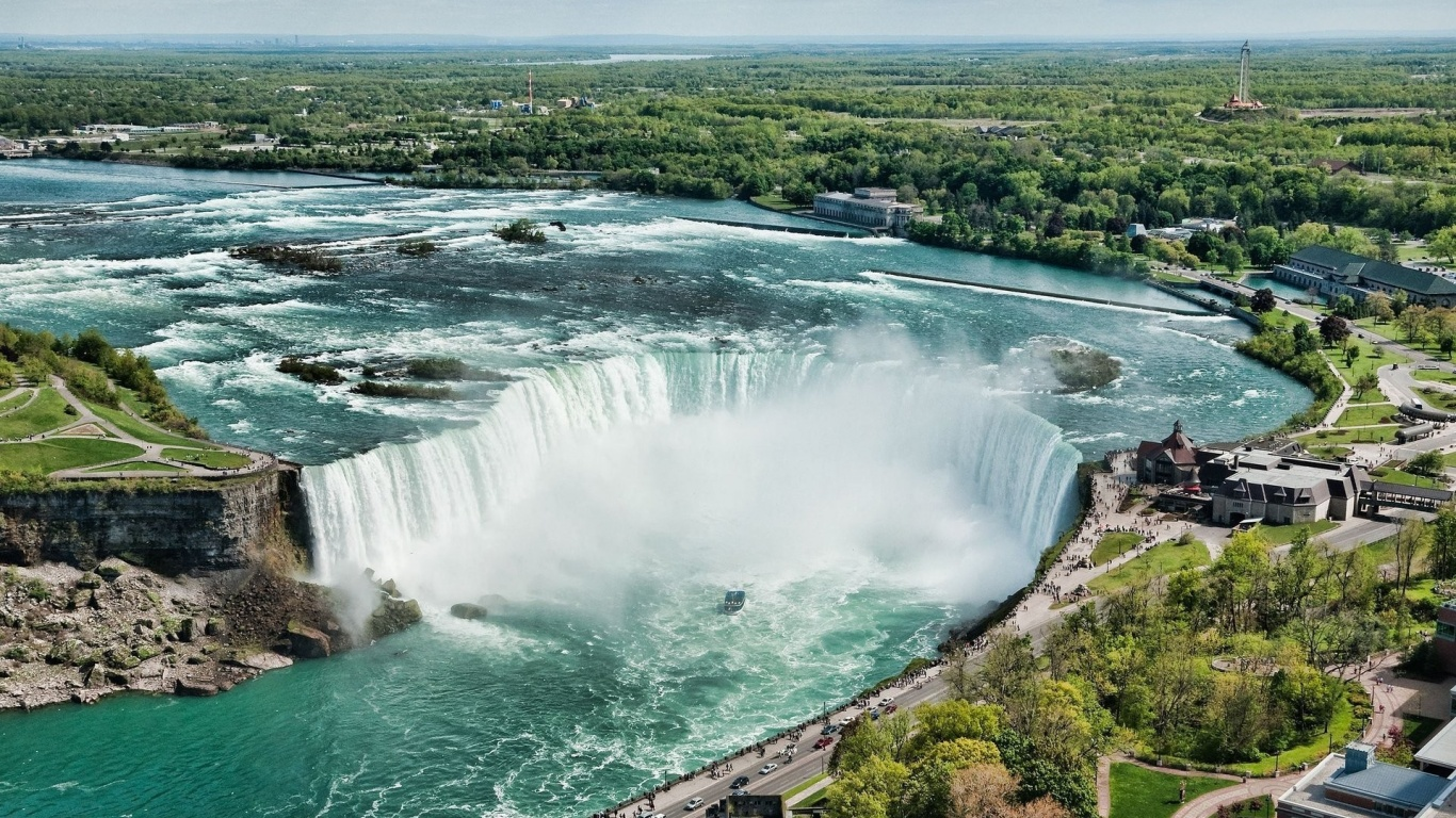 1366x768 Beautiful Niagara Falls