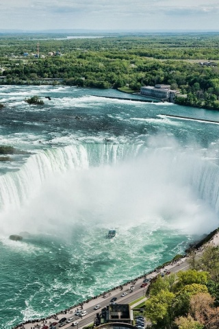 320x480 Beautiful Niagara Falls