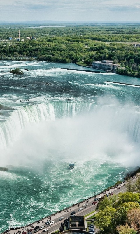 480x800 Beautiful Niagara Falls