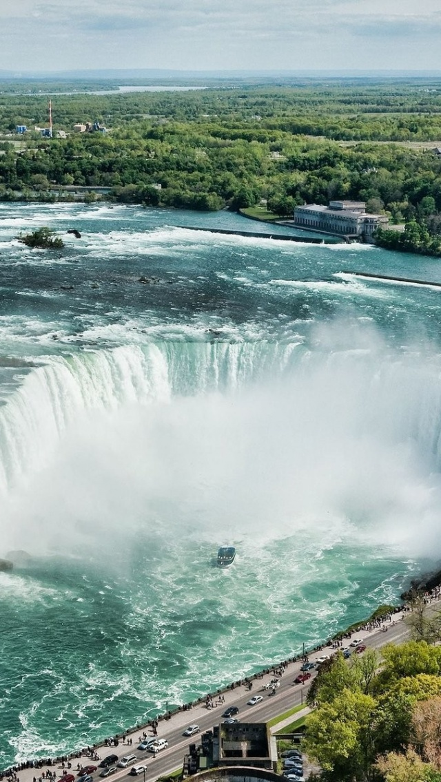 640x1136 Beautiful Niagara Falls