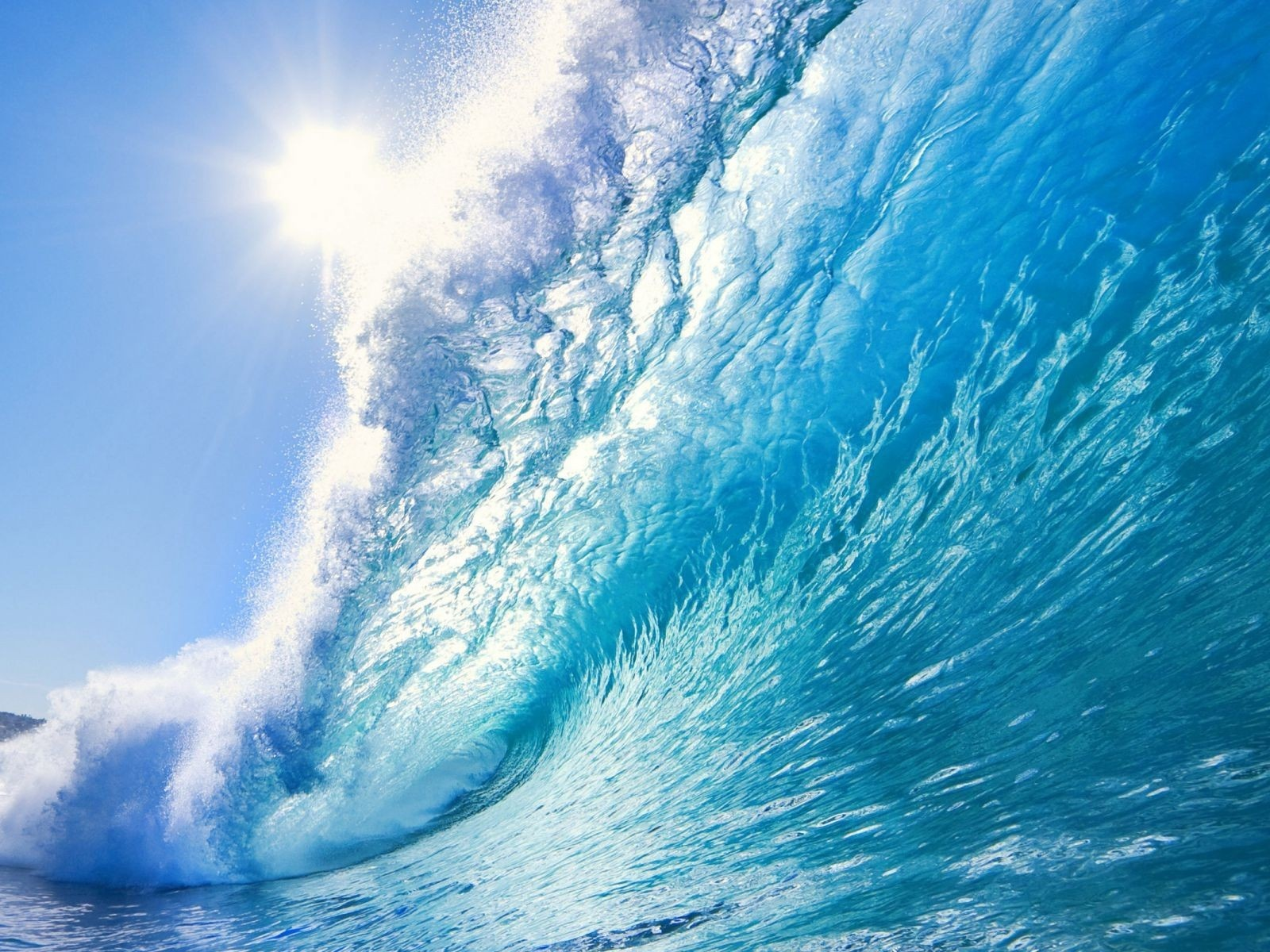 1600x1200 beautiful ocean wave desktop pc and mac wallpaper