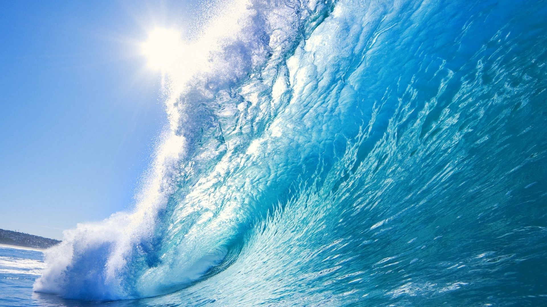 1920x1080 beautiful ocean wave desktop pc and mac wallpaper