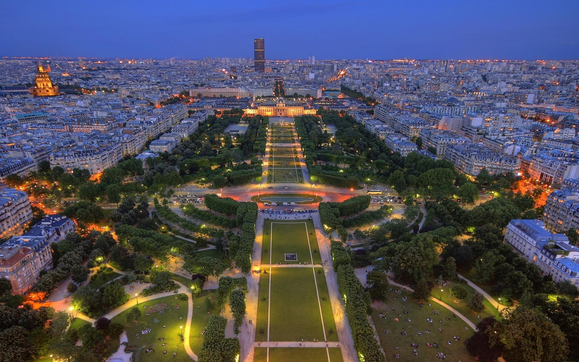 Beautiful Panorama Of Paris Wallpapers