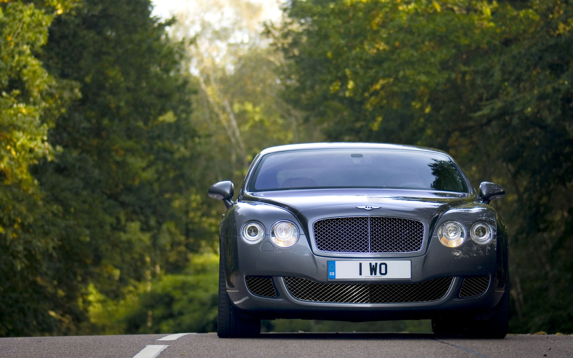 Bentley Continental Gt Front View Car Cars Cool Wallpapers