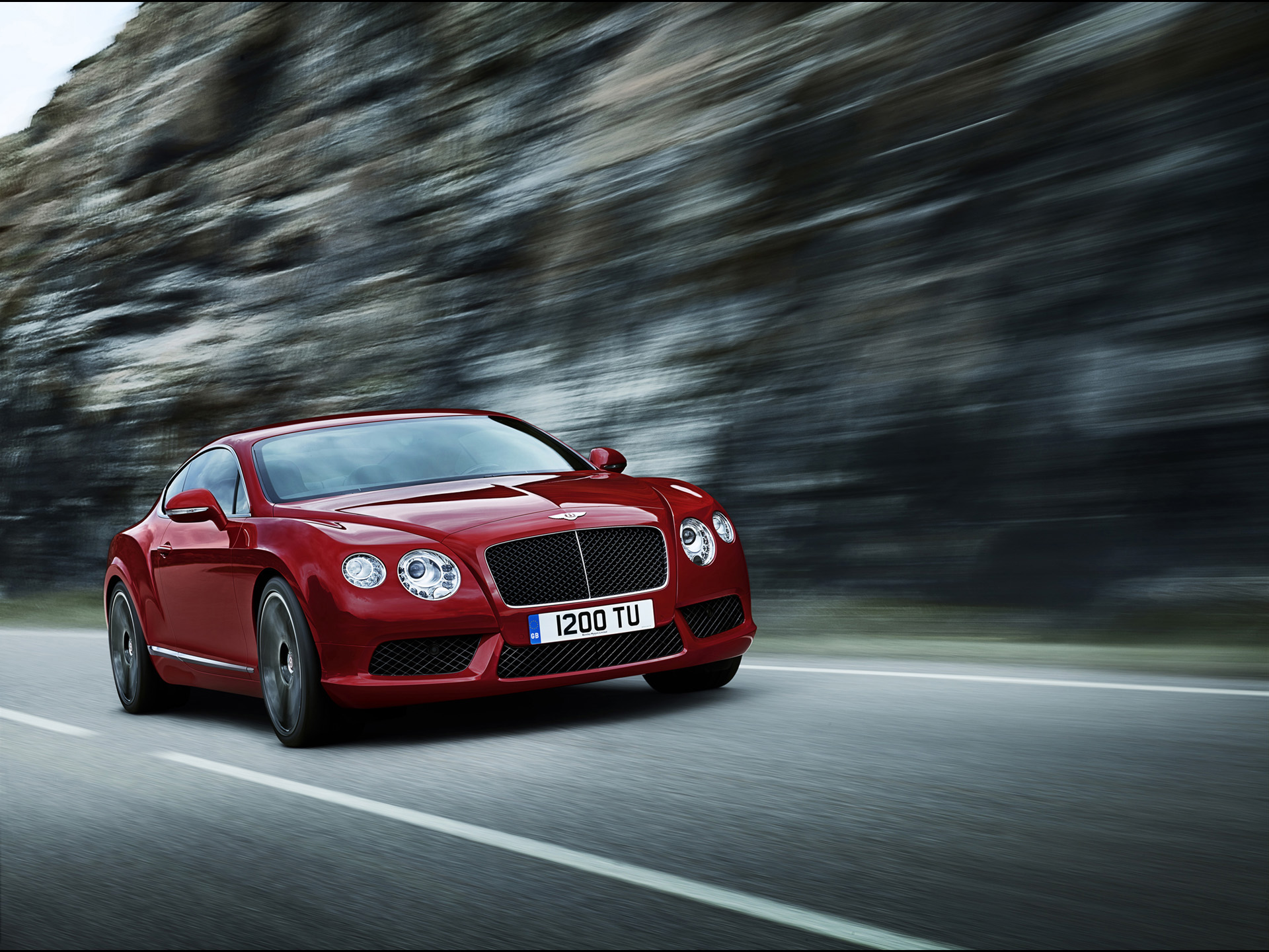 Bentley Continental GT V8 Red Wallpapers