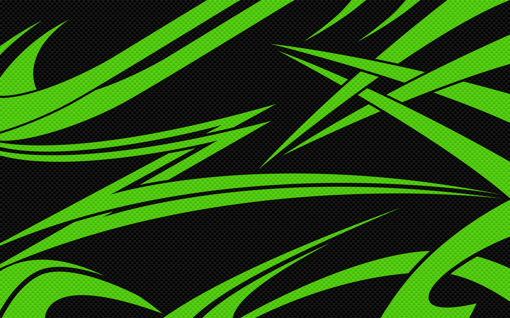 1680x1050 Black & Green Carbon desktop PC and Mac wallpaper