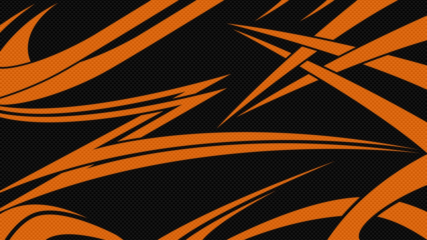 Black Orange Carbon wallpapers 21778 1366x768 1 on how