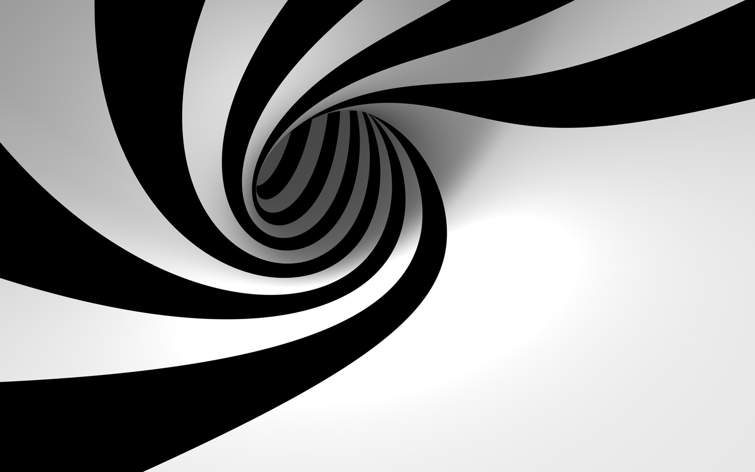 2560x1600 black and white whirl desktop pc and mac wallpaper